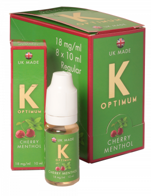 K Optimum Cherry Menthol Product Image Desktop